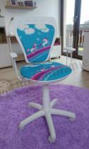 Krzesło biurowe dziecięce Ministyle White Pony