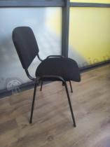Krzesło konferencyjne ISO w kolorze Black C11
