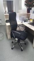 Krzesło obrotowe do biura siatkowe z mechanizmem tilt