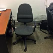 Krzesło obrotowe do biurka komputera tapicerowane Bravo GTP