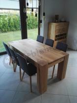 Krzesło wysokie z oparciem Actona Arosa