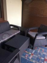Meble Corfu Set Max i Arica Rattan Table