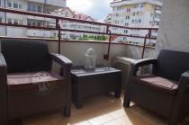 Meble ogrodowe Corfu Weekend na miejskim balkonie