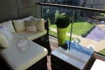 Meble technorattanowe na balkon sofa modułowa Ligurito