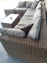 Modułowy wypoczynek z technorattanu marki Gardinetta