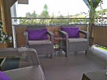 Narożna kanapa z fotelami na taras Corfu Relax Duo
