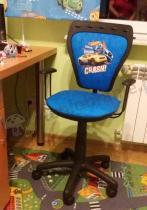 Obrotowe krzesło dziecięce Hot Wheels Crash Ministyle