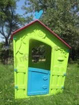 Ogrodowy domek dla dziecka w zielonym kolorze Keter Magic Villa