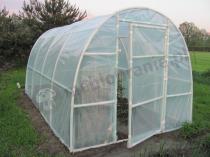 Ogrodowy namiot foliowy na warzywa 4x2,2 m