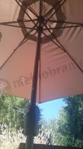 Parasol ogrodowy regulowany korbką Doppler Basic Lift II