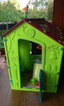 Plastikowe domki dla dzieci do ogrodu Magic Playhouse