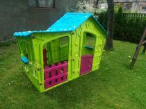 Plastikowy domek dla dziecka ogrodowy Keter Magic Villa