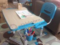 Regulowane biurko dla dziecka z krzesełkiem Fun Desk