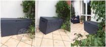 Skrzynia plastikowa do ogrodu Keter Rattan Box
