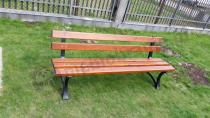 Solidna ławka ogrodowa żeliwna o długości 180cm Fiemar