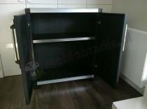 Szafka na balkon taras z półkami czarna Keter XL PRO Base Shed