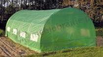 Tunel foliowy ogrodowy szklarnia ogrodowa 3x6 18m2 z zieloną folią