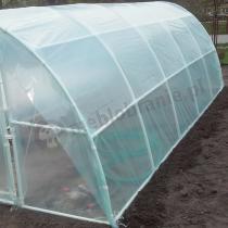 Tunel foliowy z rurek PCV Lemar 6m*3m w ogrodzie