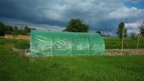 Tunel ogrodowy metalowy na działkę do uprawy warzyw