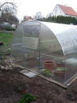 Tunel poliwęglanowy Agro Standard z otwieranym okienkiem w drzwiach