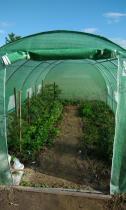 Tunele foliowe konstrukcja metalowa do uprawy warzyw