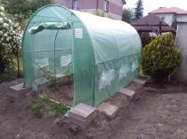 Tunele foliowe o konstrukcji metalowej do uprawy warzyw
