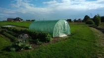 Tunele ogrodowe metalowe na działkę do uprawy warzyw
