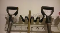 Wieszak ścienny na narzędzia ogrodowe Hanging Tool Rack