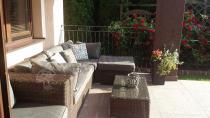Wygodne kanapy ogrodowe z technorattanu Ligurito