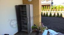 Wysoka szafka ogrodowa balkonowa z 4 półkami Keter Optima Outdoor Tall