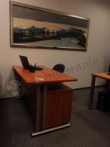 Zestaw biurowy Svenbox kontener na kółkach i biurko