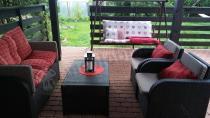 Zestaw do ogrodu i na taras Modena Lounge Set brązowy