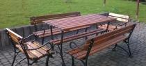 Zestaw drewniany do ogrodu Factor Plus 150cm