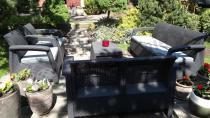Zestaw ogrodowy Corfu Max z sofą Love Seat