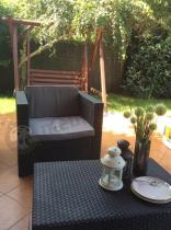 Zestaw ogrodowy narożnik Keter Provence z fotelem