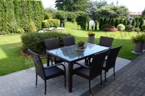 Zestaw ogrodowy stół i krzesła technorattan Rimini&Torino