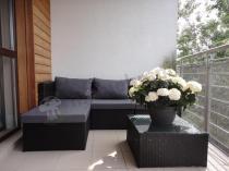Zestawy mebli ogrodowych z technorattanu na balkon