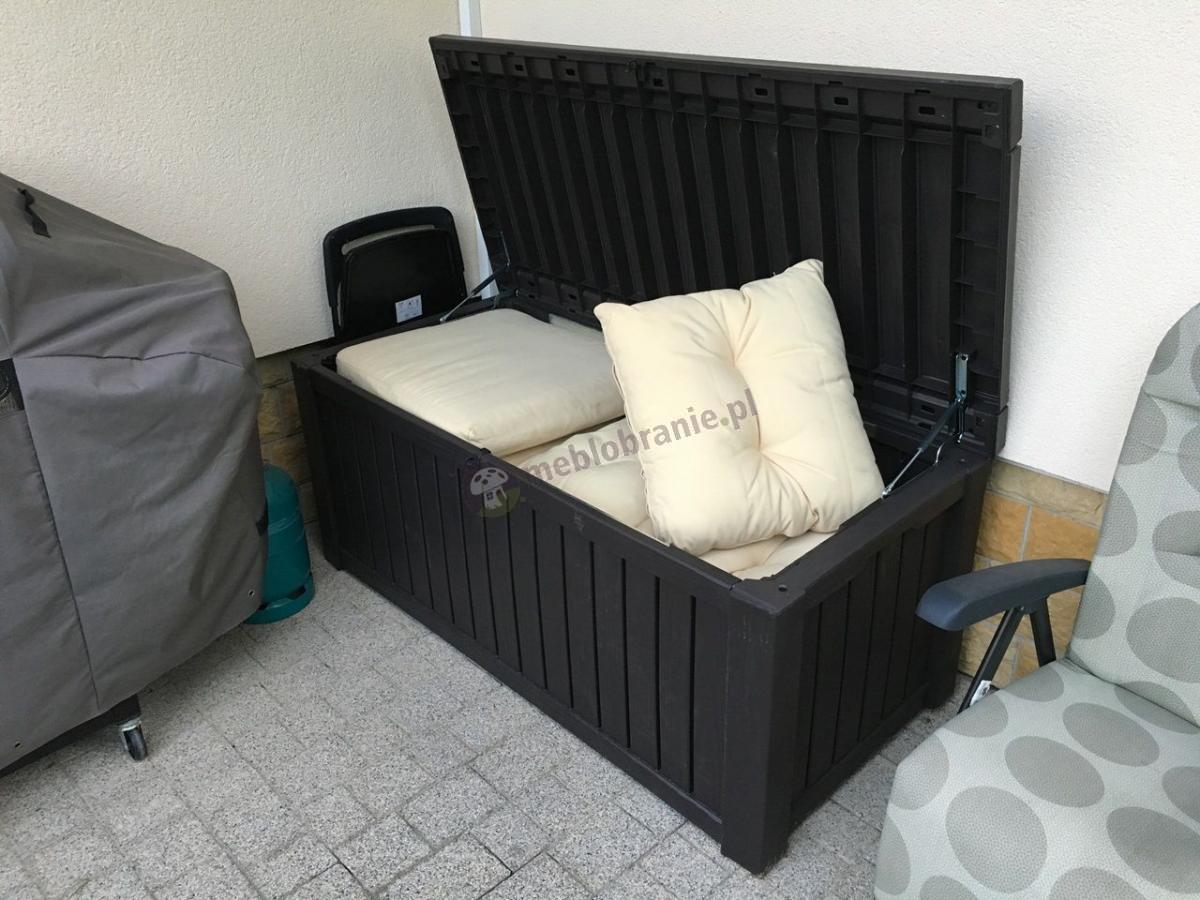 Schowek na poduszki skrzynia kufer na balkon