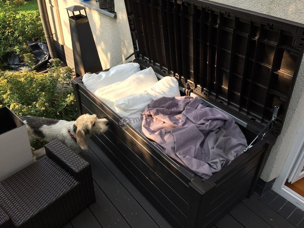 Schowek ogrodowy na poduszki i pokrowce ogrodowe