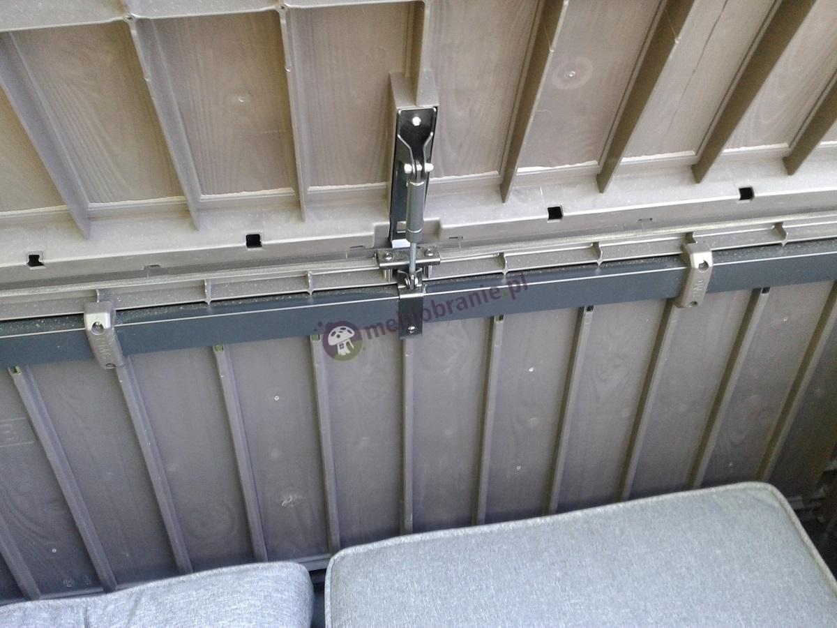 Siłownik skrzyni balkonowej Keter Glenwood Box