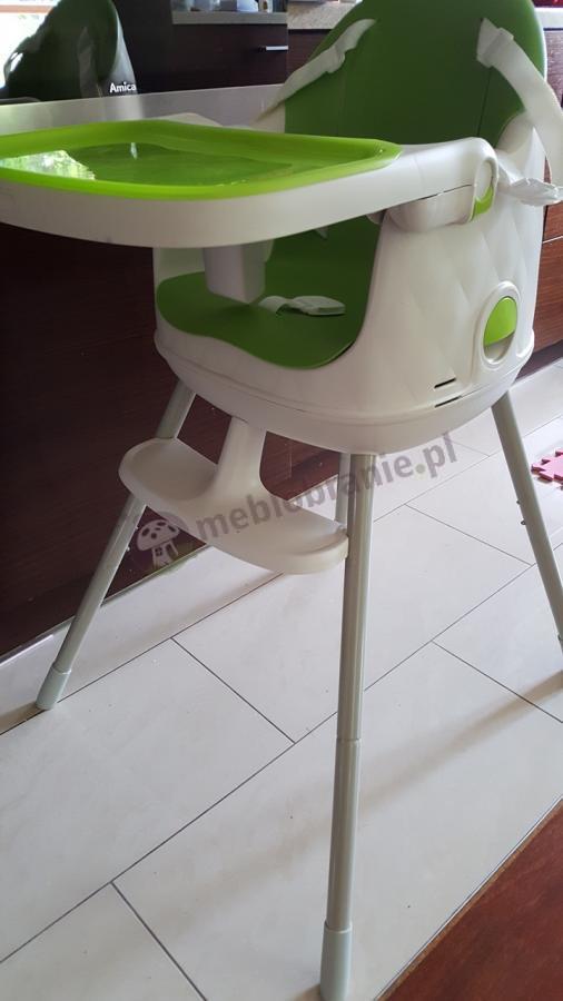 Siodełko do jedzenie dla dziecka z regulacją i separatorem na nogi Keter Multidine