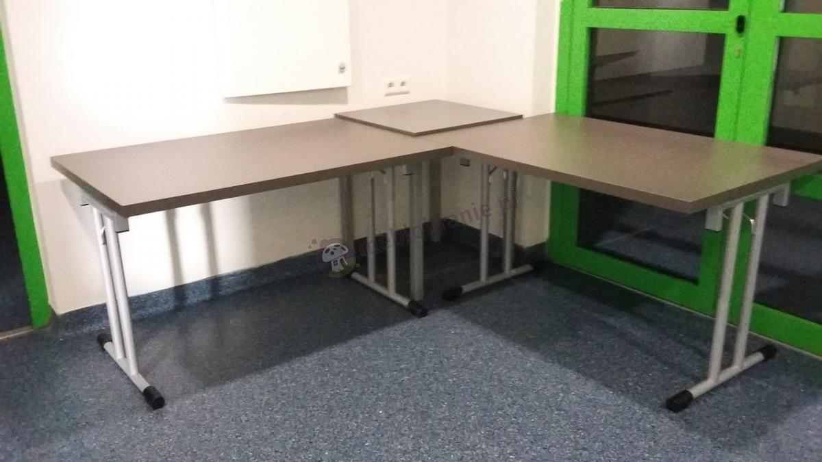 Składane stoły konferencyjne 120x80 cm