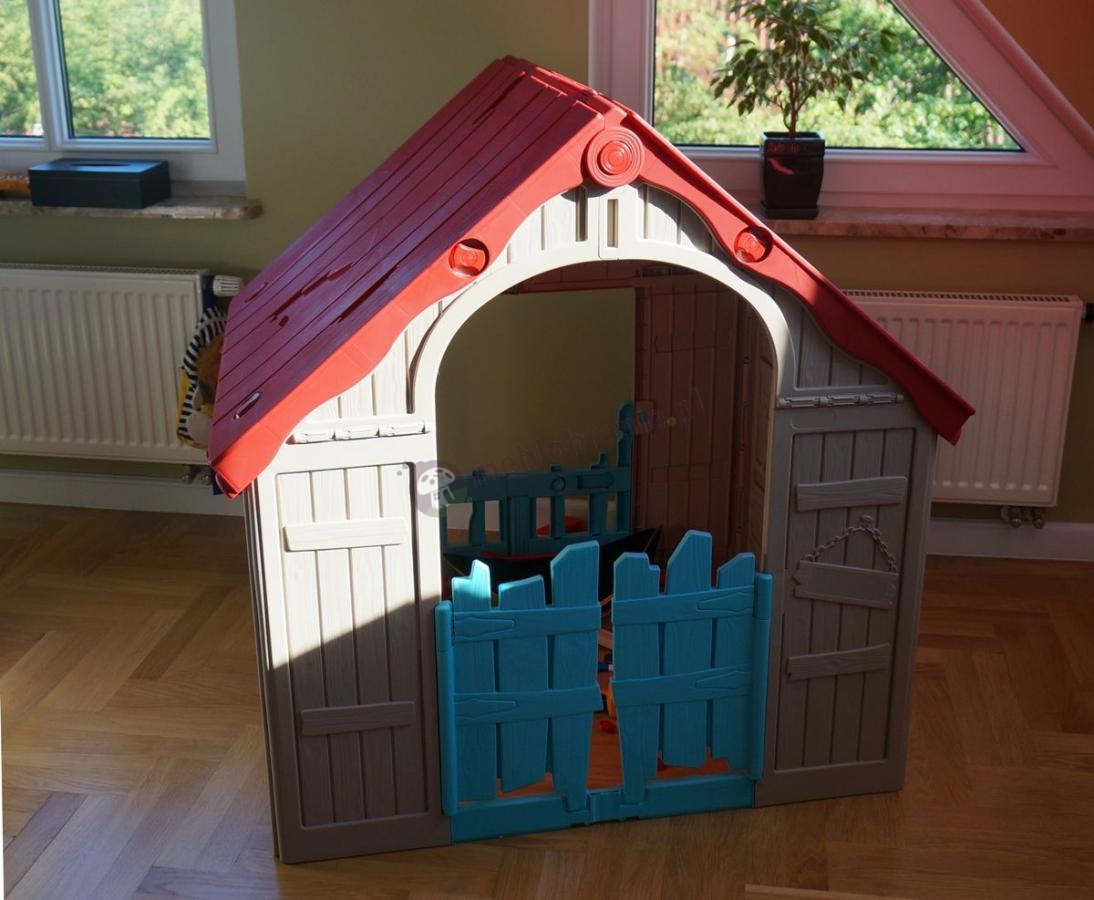 Składany domek dla dzieci Keter Foldable Playhouse
