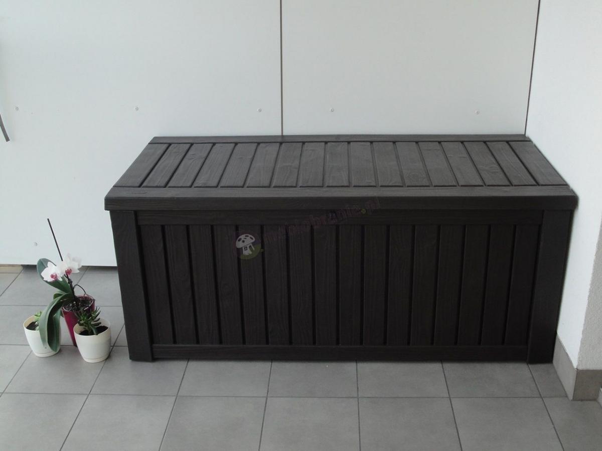 Skrzynia balkonowa Keter Rockwood Box do przechowywania poduszek