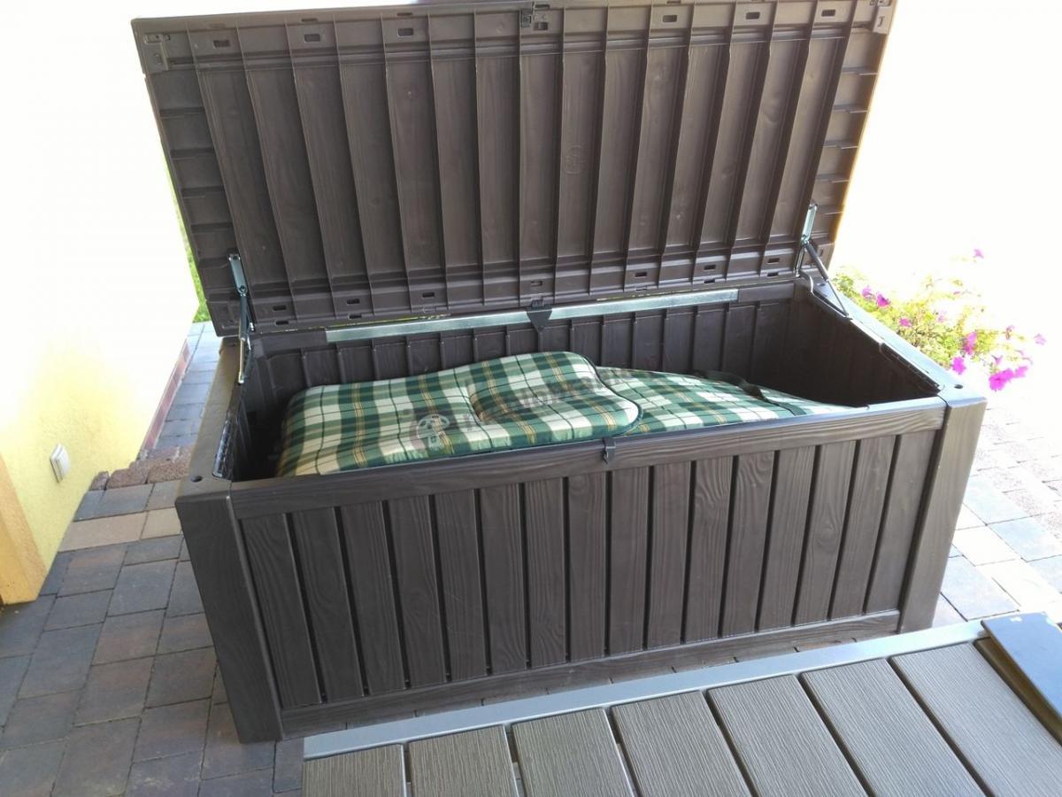 Skrzynia balkonowa z tworzywa sztucznego Keter Rockwood Box