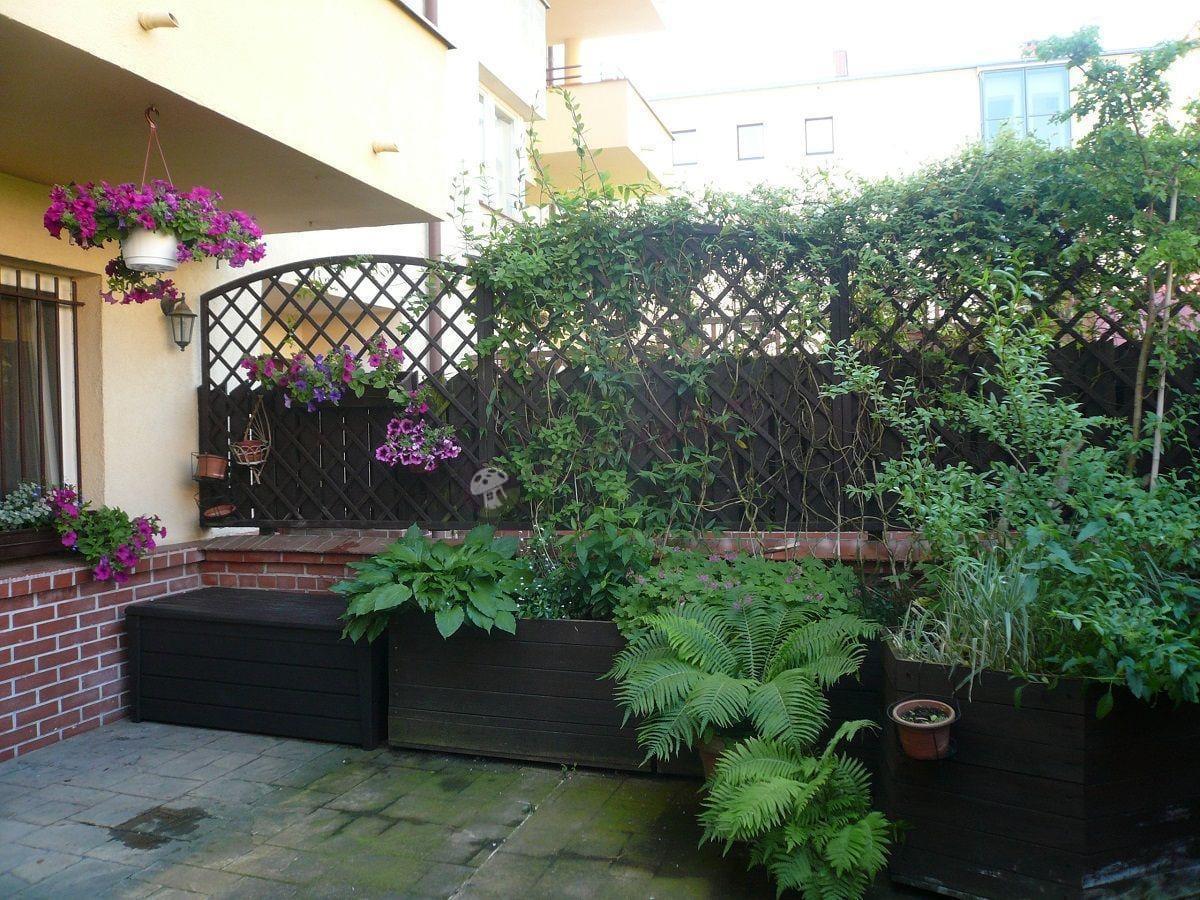 Skrzynia ogrodowa Keter idealnie wpasowana w aranżację