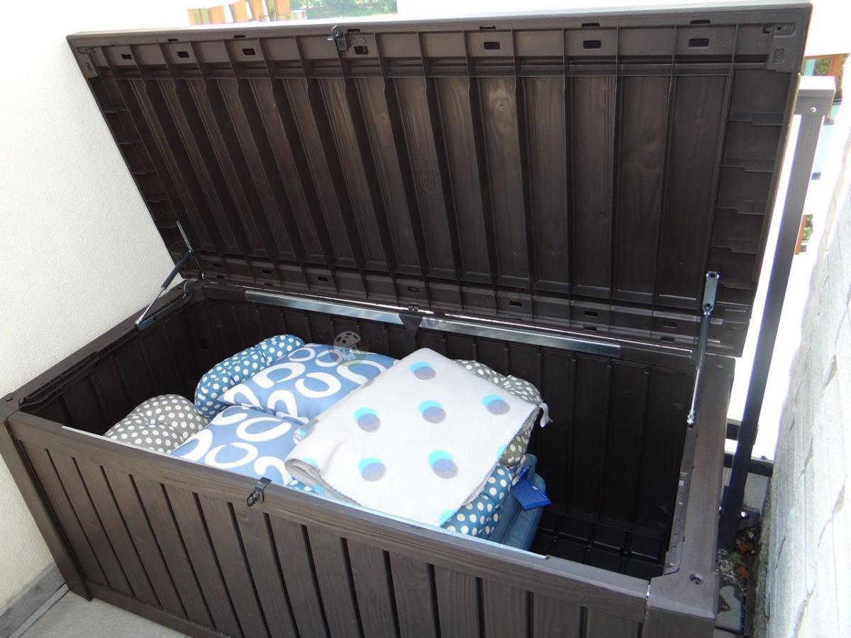 Skrzynia ogrodowa na poduszki Rockwood Box 570L