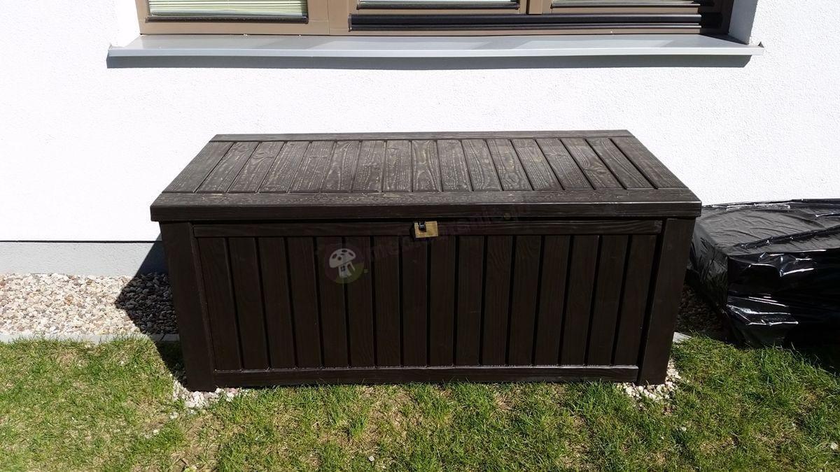 Skrzynia ogrodowa z tworzywa sztucznego Keter Rockwood Box