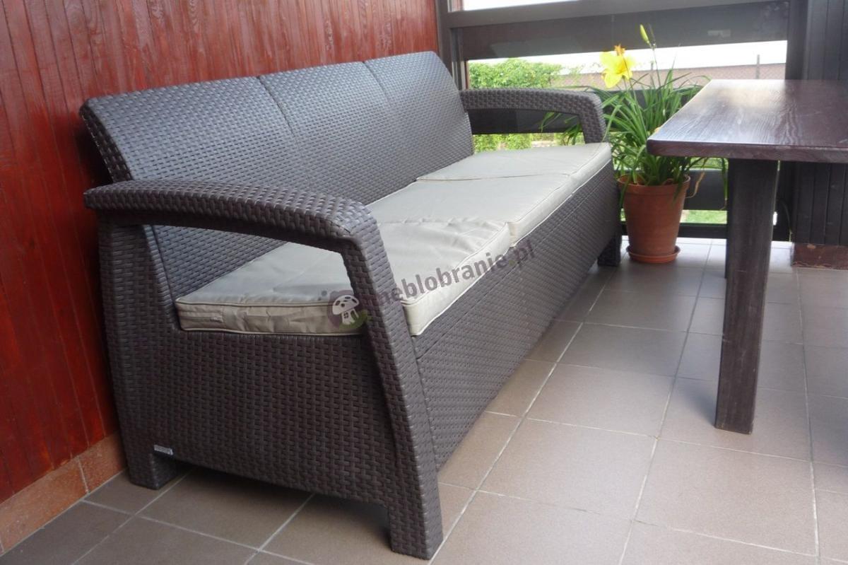 Sofa 3 osobowa na taras