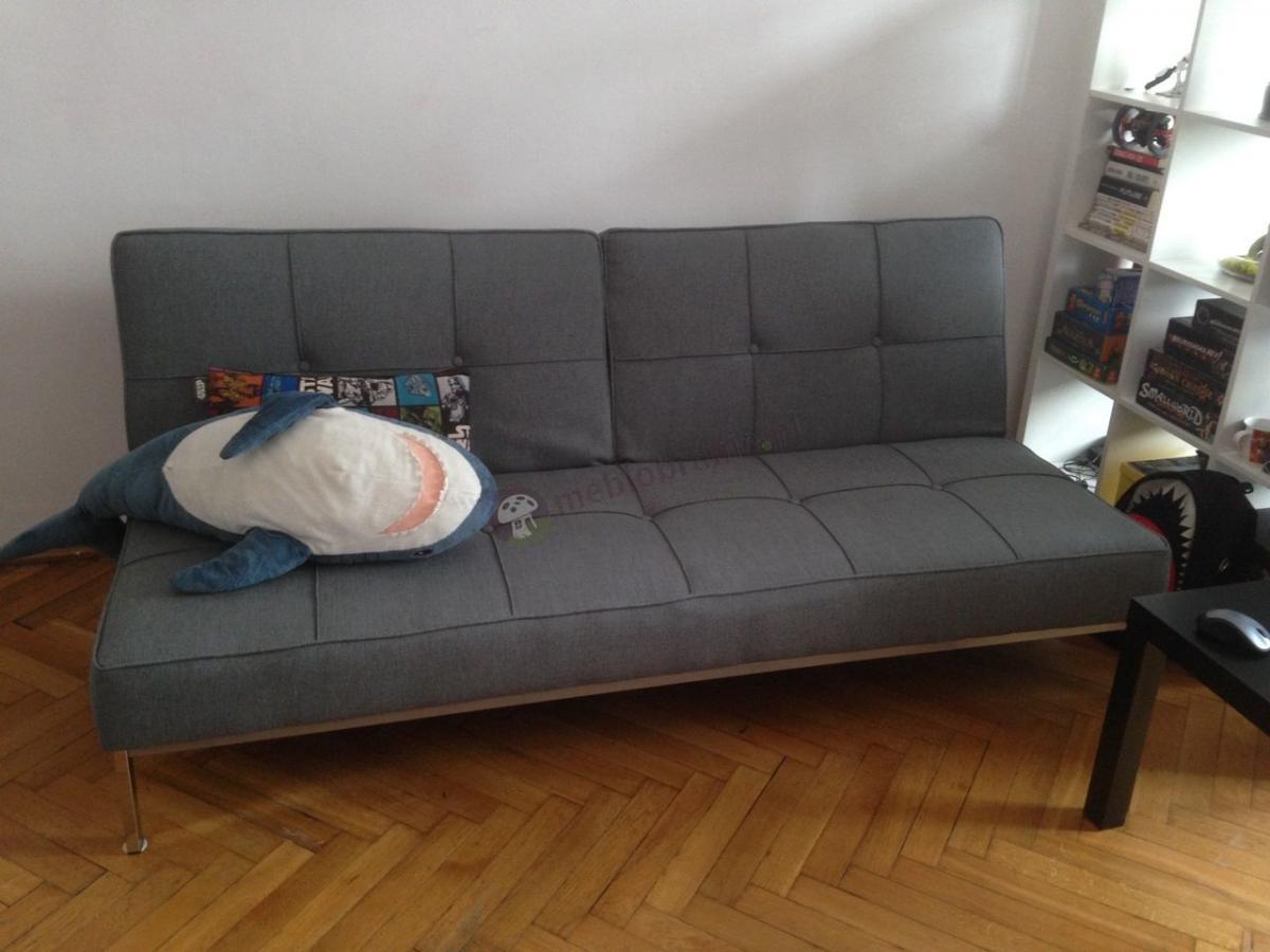 Sofa rozkładana design skandynawski Actona Perugia